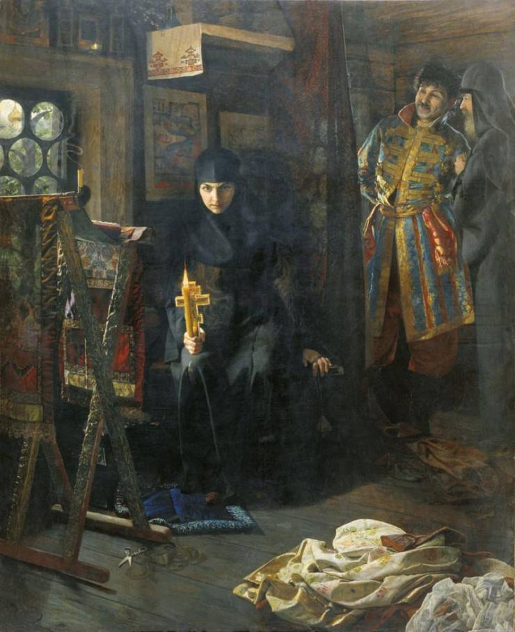 Против воли постриженная. Матвеев Николай Сергеевич. 1887 г.
