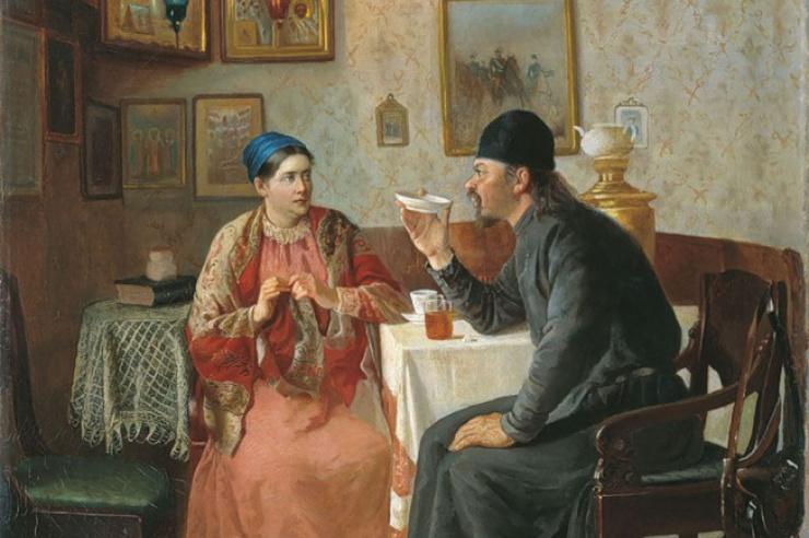 Чаепитие. Наумов Алексей Аввакумович
